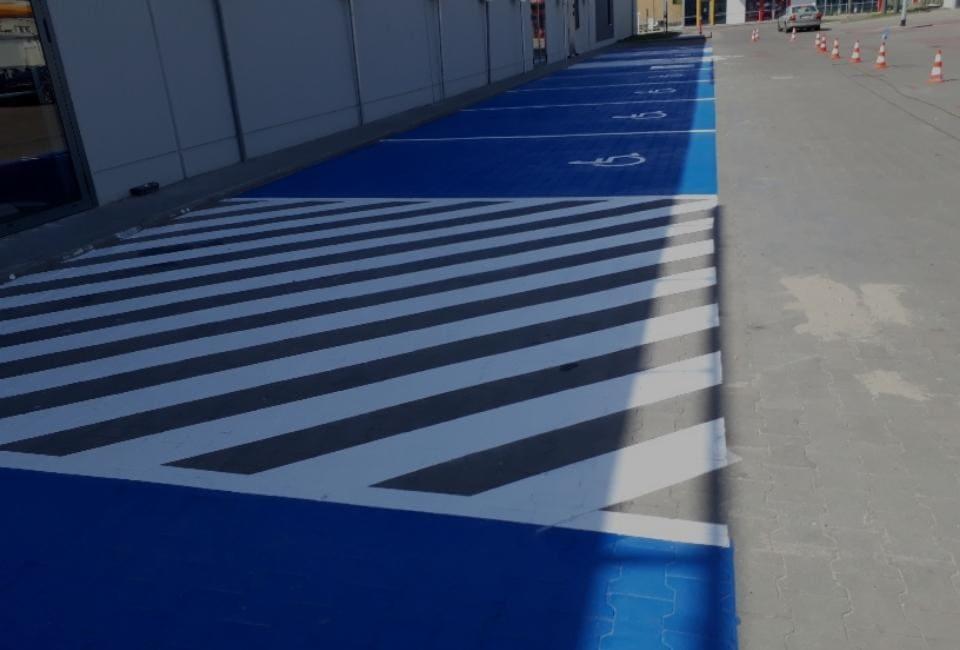 malowanie parkingów
